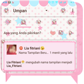 DELTA BBM TEMA HELLO KITTY icon
