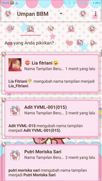 DELTA BBM TEMA HELLO KITTY screenshot 2