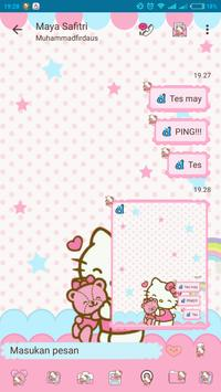 DELTA BBM TEMA HELLO KITTY screenshot 3