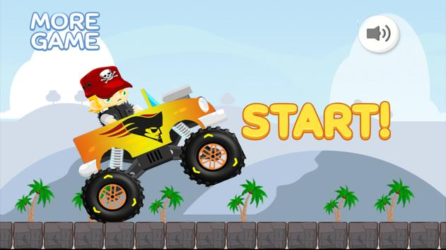 Truck Monster Racing New Game poster