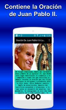 Oración De Juan Pablo II A La Virgen De Guadalupe poster