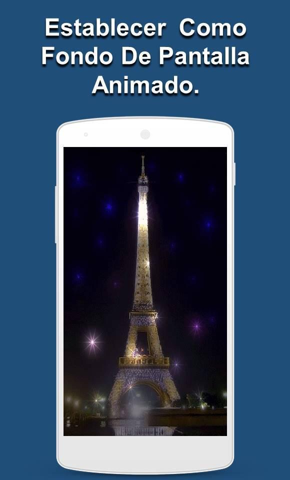 Torre Eiffel De París Fondo De Pantalla Gif для андроид