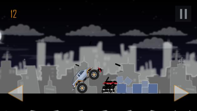 Monster Truck Smash Stickman apk screenshot
