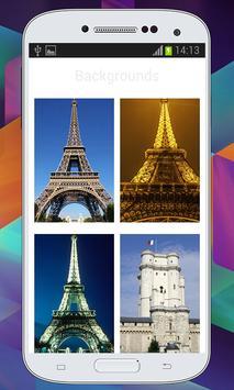 Paris Zipper  Lock Screen screenshot 1