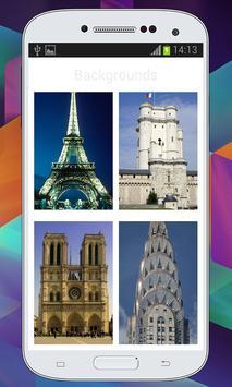 Paris Zipper  Lock Screen screenshot 2
