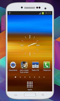 Paris Zipper  Lock Screen screenshot 5