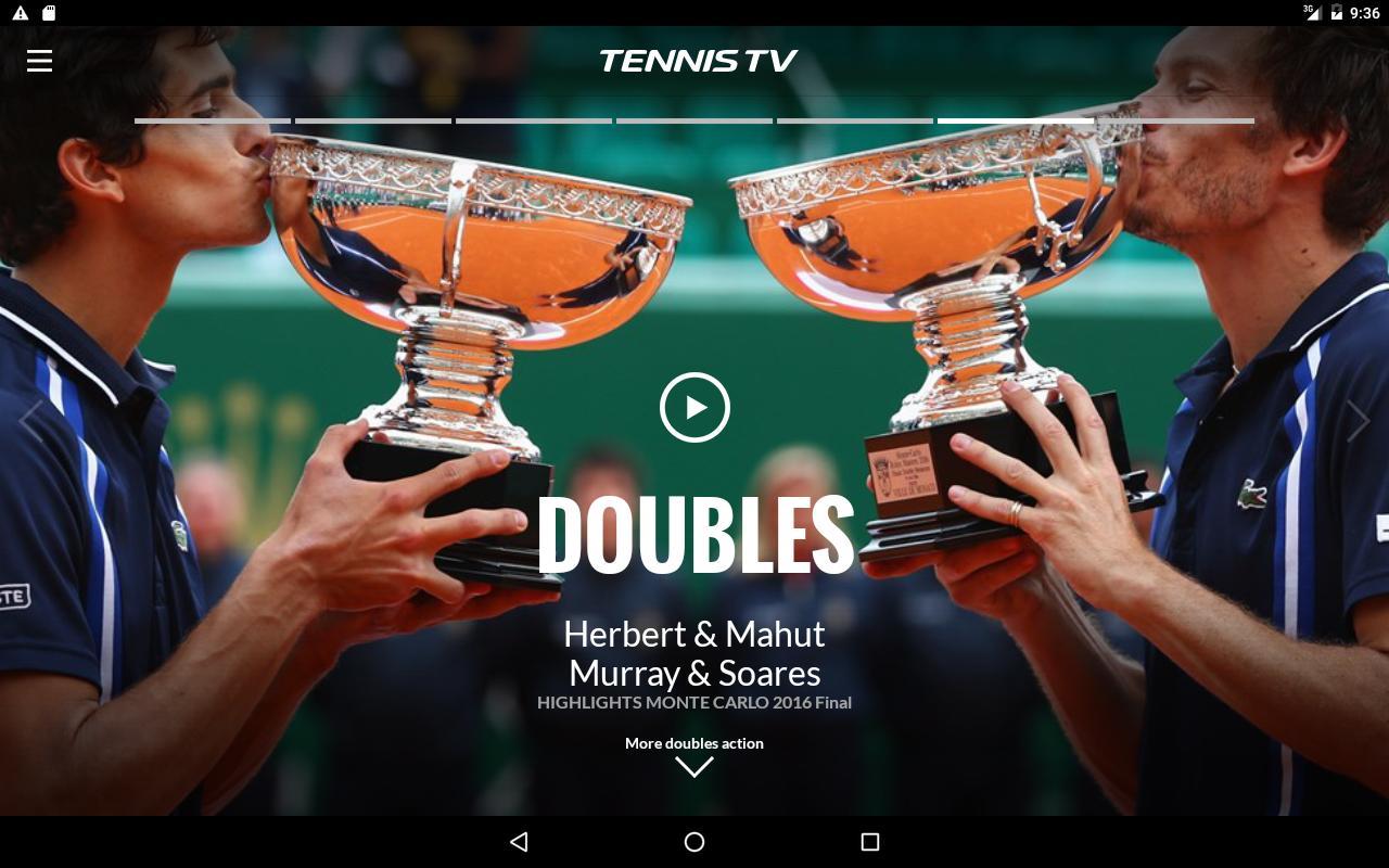 tennis live tv
