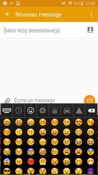 Keyboard Cape Verde flag Theme & Emoji screenshot 1