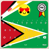 Guyana Keyboard Theme & Emoji icon
