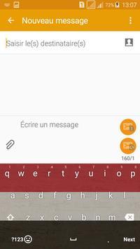 Keyboard Yemen flag Theme & Emoji screenshot 2