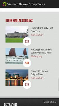 Vietnam Deluxe Group Tours apk screenshot