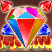bejewel on fire deluxe icon