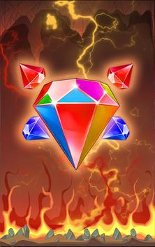 bejewel on fire deluxe poster