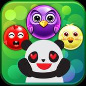 bubble panda pop blast icon