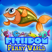 funny world ocean fishdom icon