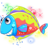 fish rainbow blast ocean icon