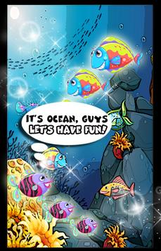 fish rainbow blast ocean apk screenshot