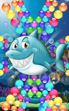 bubble fish ocean go poster