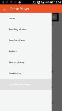 Delve Video Player screenshot 3