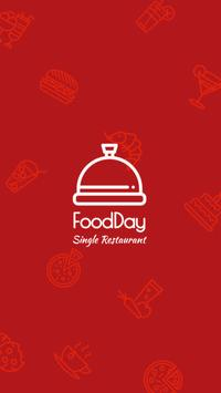 FoodDay - Single Restaurant poster