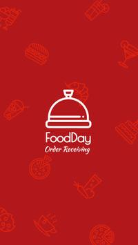 FoodDay - Order Receiving poster