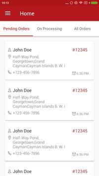 FoodDay - Order Receiving apk screenshot