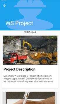 Melamchi Water Supply Project apk screenshot
