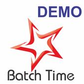 Batch Time Demo App icon