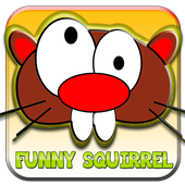 funny squirre icon