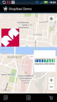 ShopNavi Maribor Demo poster