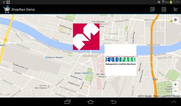 ShopNavi Maribor Demo screenshot 8
