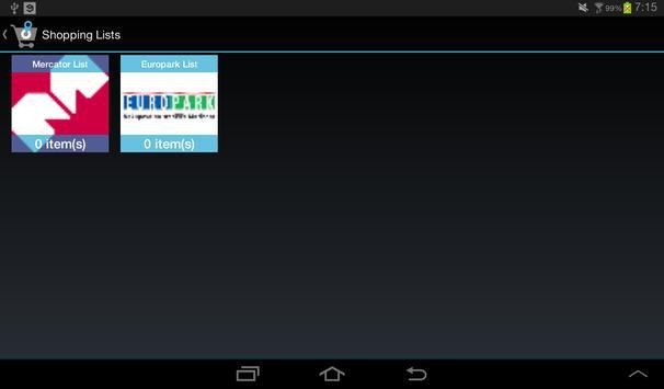ShopNavi Maribor Demo screenshot 9