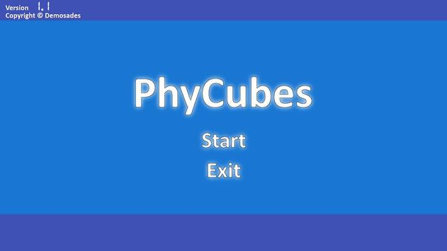 PhyCubes FREE poster