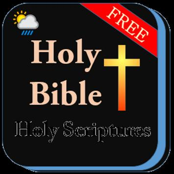 Easy English Holy Bible poster