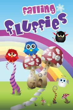 Falling Fluffies for kids poster