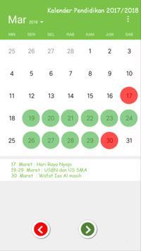 Kalender Pendidikan screenshot 1