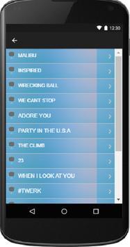 Miley Cyrus - Song and Lyrics screenshot 2
