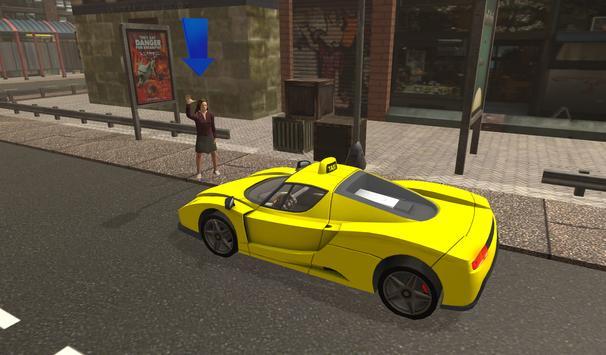 Extreme Taxi Sim 2017 screenshot 5