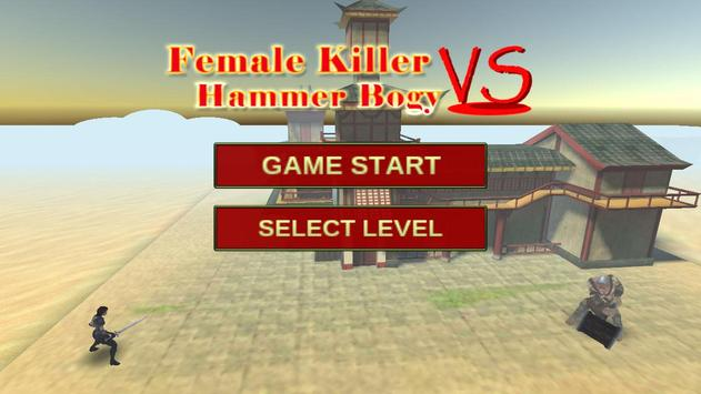 Female Killer VS Hammer Bogy screenshot 2