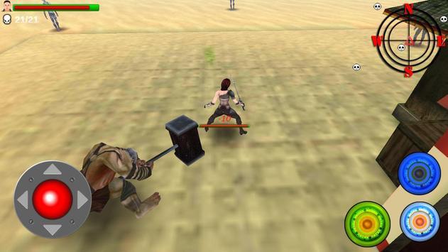 Female Killer VS Hammer Bogy screenshot 4