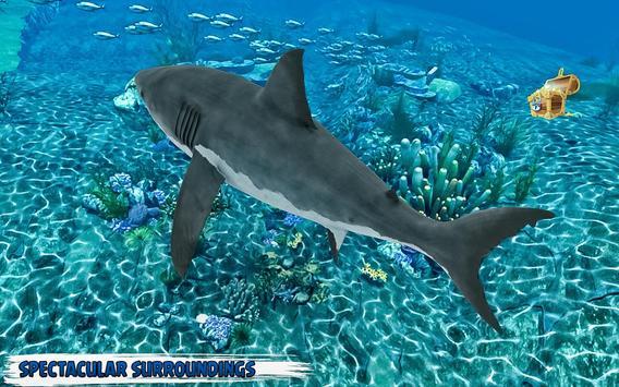 branco Tubarão com fome: baleia ataque imagem de tela 6