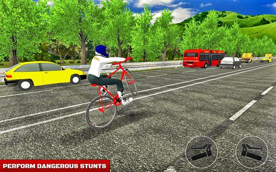 BMX Bicycle Road Race poster