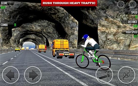 BMX Bicycle Road Race apk screenshot