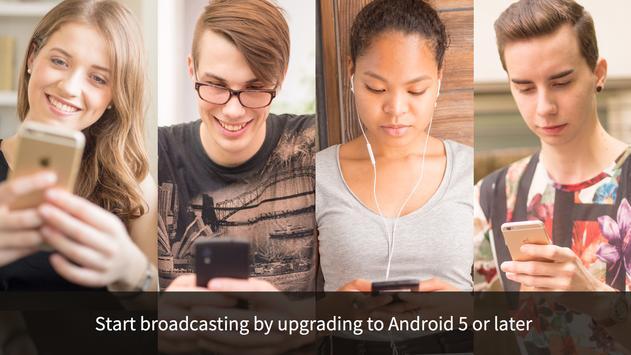 ゲーム実況できるミラティブ!生放送でマルチやガチャ&画面録画 apk スクリーンショット