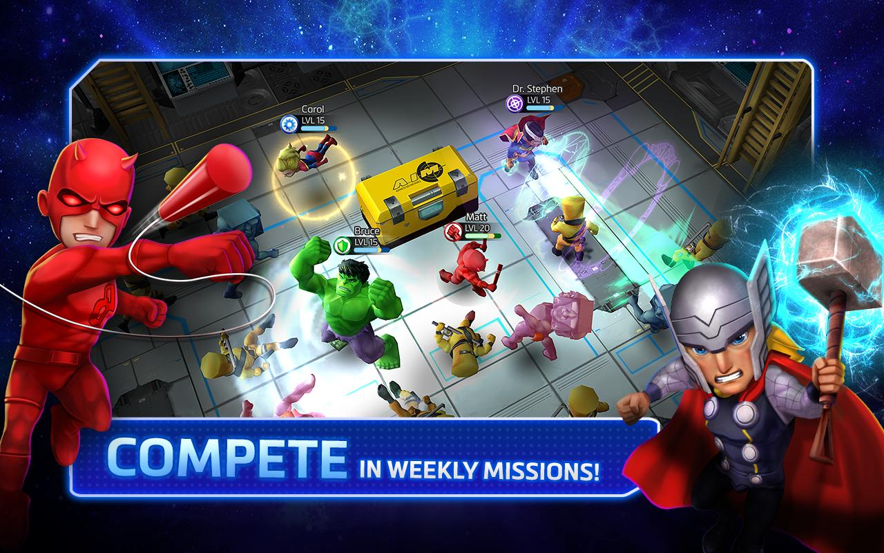 Marvel Mighty Heroes for Android - APK Download
