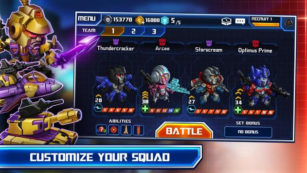 TRANSFORMERS: Battle Tactics 스크린샷 17