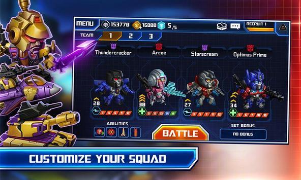 TRANSFORMERS: Battle Tactics 스크린샷 3