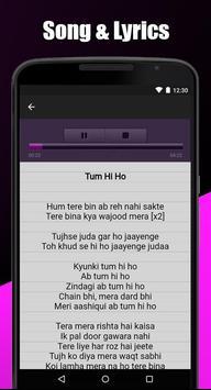 Arijit Singh Song & Lyrics ( Mp3 ) screenshot 3