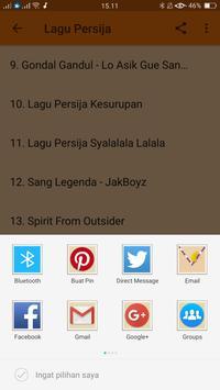 Lagu Persija Terbaru apk screenshot