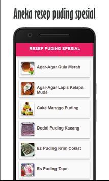 Resep Puding Spesial apk screenshot